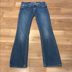Big Star ultra low sweet boot jeans size 26R